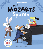 Auf Mozarts Spuren, m. Soundeffekten Cover