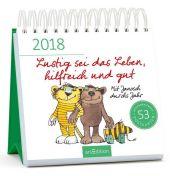 Lustig sei das Leben, hilfreich und gut 2018 Cover