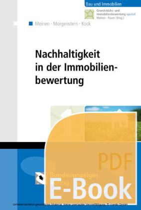 Nachhaltigkeit in der Immobilienbewertung (E-Book)