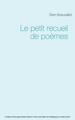 Le petit recueil de poèmes