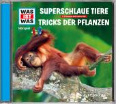Superschlaue Tiere / Tricks der Pflanzen, Audio-CD Cover