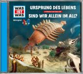 Ursprung des Lebens / Sind wir allein im All?, Audio-CD Cover