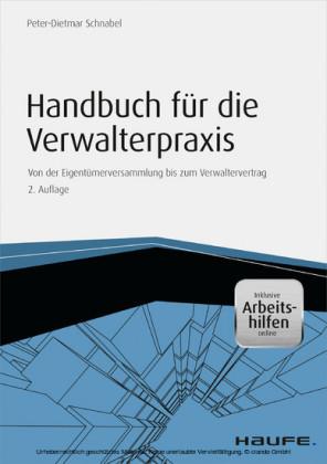 Handbuch für die Verwalterpraxis - inkl. Arbeitshilfen online