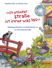 """In unserer Straße ist immer was los"", m. Audio-CD Cover"