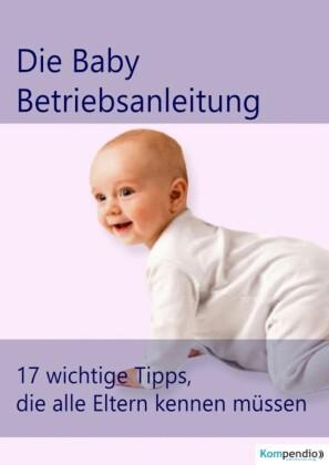 die Baby Betriebsanleitung