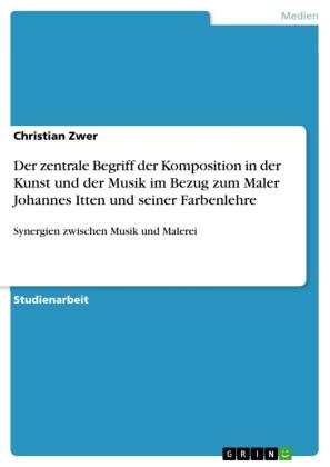 Der zentrale Begriff der Komposition in der Kunst und der Musik im Bezug zum Maler Johannes Itten und seiner Farbenlehre