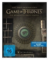 Game of Thrones, 5 Blu-rays (Steelbook) Cover