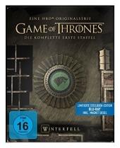 Game of Thrones, 5 Blu-rays (Steelbook) Cover
