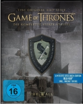 Game of Thrones, 4 Blu-rays (Steelbook) Cover