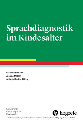 Sprachdiagnostik im Kindesalter