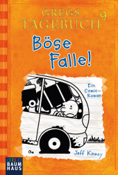 Gregs Tagebuch - Böse Falle! Cover