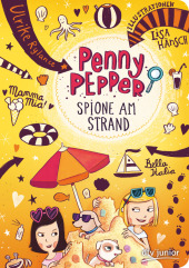 Penny Pepper - Spione am Strand Cover