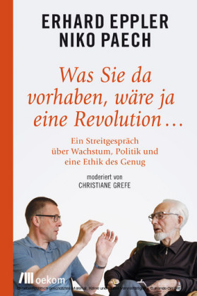 Was Sie da vorhaben, wäre ja eine Revolution...