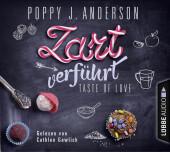 Taste of Love - Zart verführt, 4 Audio-CDs Cover