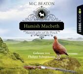 Hamish Macbeth geht auf die Pirsch, 4 Audio-CDs Cover