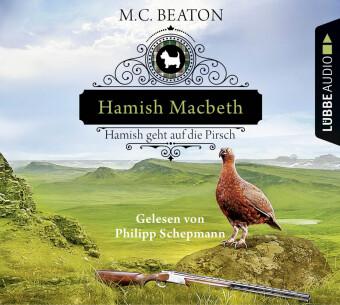 Hamish Macbeth geht auf die Pirsch, 4 Audio-CDs