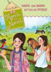 Hanni und Nanni retten die Pferde Cover