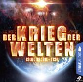 Der Krieg der Welten, 4 Audio-CDs Cover
