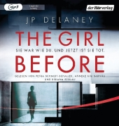 The Girl Before - Sie war wie du. Und jetzt ist sie tot, 1 MP3-CD Cover