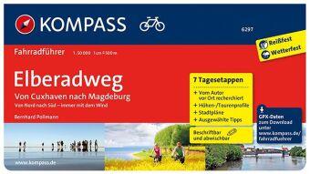 KOMPASS Fahrradführer Elberadweg von Cuxhaven nach Magdeburg