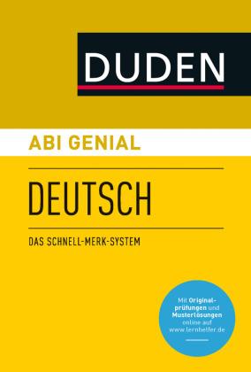 Abi genial Deutsch