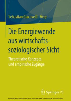 Die Energiewende aus wirtschaftssoziologischer Sicht