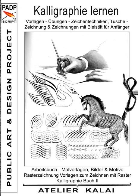 Padp Script 11 Kalligraphie Lernen Vorlagen Ubungen