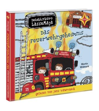 Detektivbüro LasseMaja - Das Feuerwehrgeheimnis, 1 Audio-CD