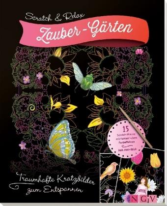 Scratch & Relax: Zauber-Gärten