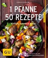 1 Pfanne - 50 Rezepte Cover