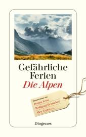 Gefährliche Ferien - Die Alpen Cover