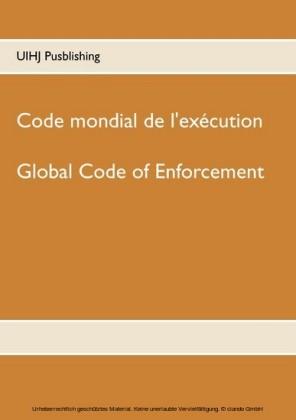 Code mondial de l'exécution