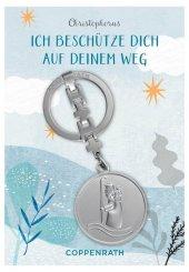 Christophorus-Schlüsselanhänger - Ich beschütze dich auf deinem Weg Cover