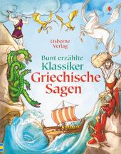 Bunt erzählte Klassiker: Griechische Sagen Cover