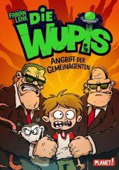 Die Wupis - Angriff der Gemeinagenten Cover