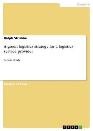 A green logistics strategy for a logistics service provider