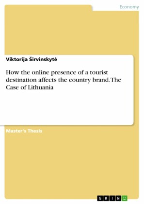How the online presence of a tourist destination affects the country brand. The Case of Lithuania
