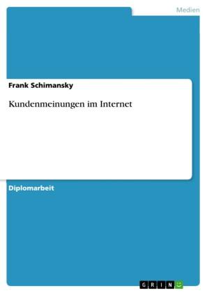 Kundenmeinungen im Internet