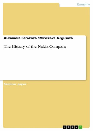 The History of the Nokia Company