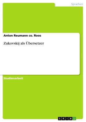 Zukovskij als Übersetzer