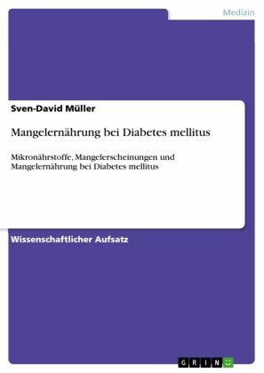 Mangelernährung bei Diabetes mellitus