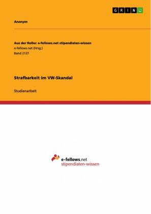 Strafbarkeit im VW-Skandal