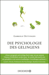 Die Psychologie des Gelingens Cover