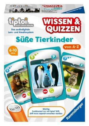 Wissen & Quizzen: Süße Tierkinder (Spiel-Zubehör)