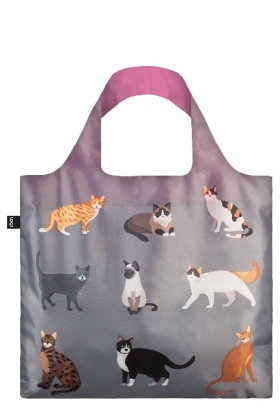 LOQI Bag CATS Meow