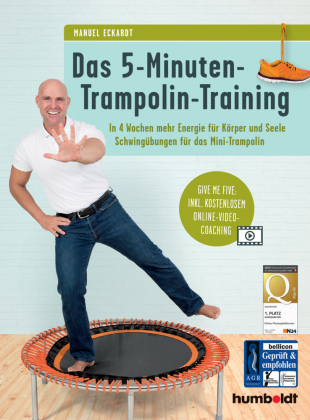 Das 5-Minuten-Trampolin-Training