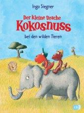 Der kleine Drache Kokosnuss und die wilden Tiere Cover