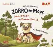 Zorro, der Mops - Abenteuer im Bammelwald, 2 Audio-CDs