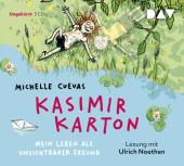 Kasimir Karton - Mein Leben als unsichtbarer Freund, 3 Audio-CDs Cover