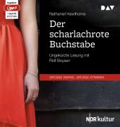 Der scharlachrote Buchstabe, 1 MP3-CD Cover